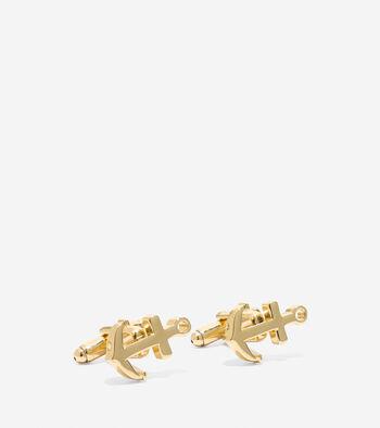 Pinch Anchor Cuff Links
