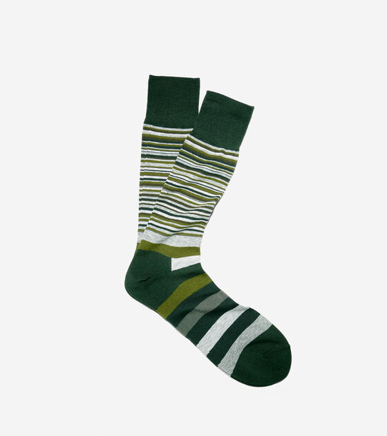 Accessories > Town Striped Crew Socks