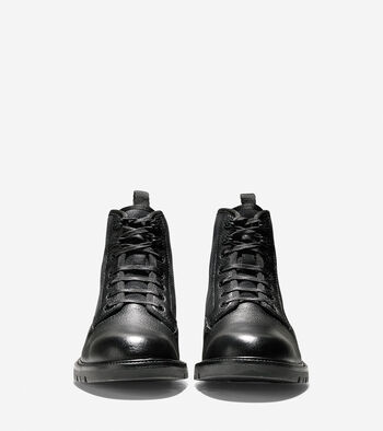 Grantland Waterproof Plain Toe Lace Up Boot