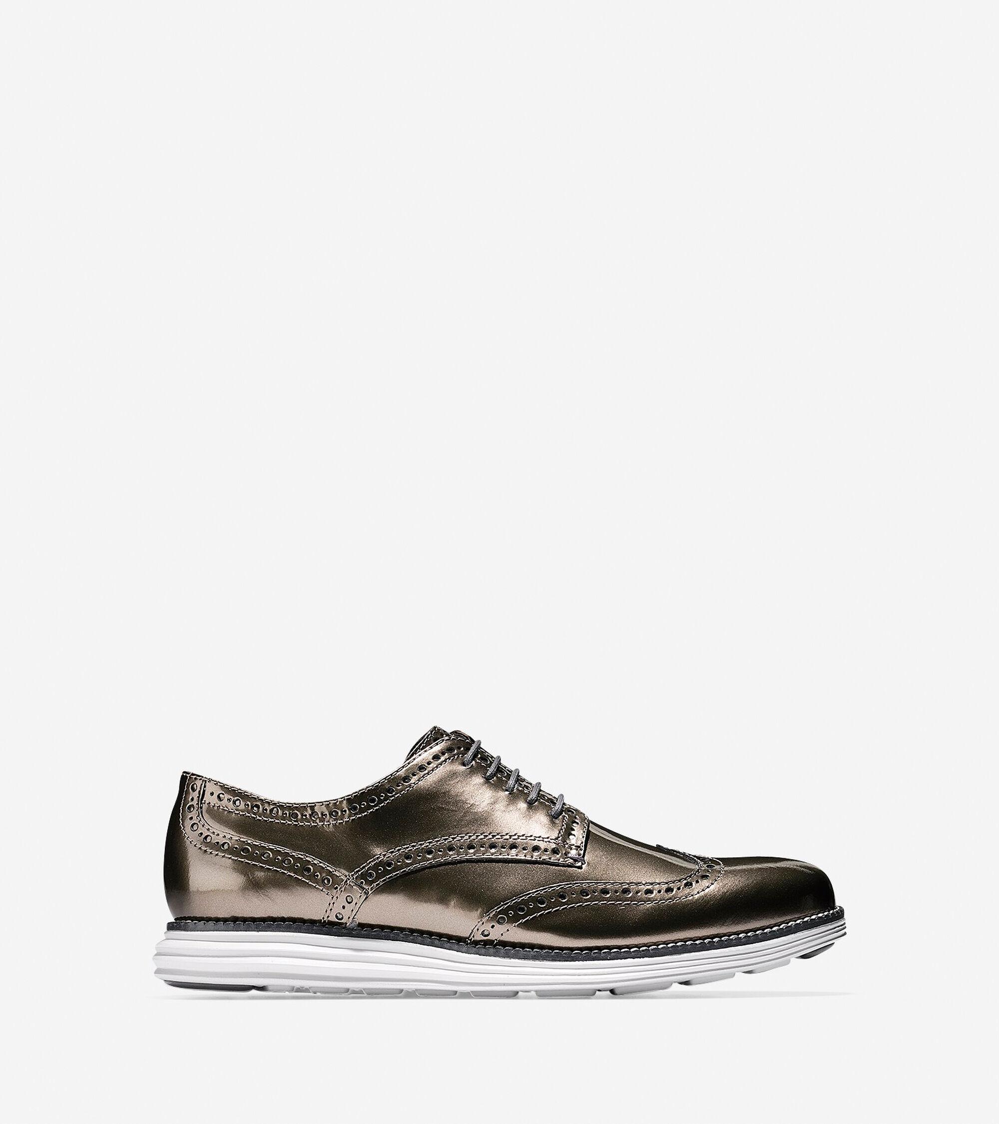 Mens Cole Haan OriginalGrand Wingtip Oxford Shoes