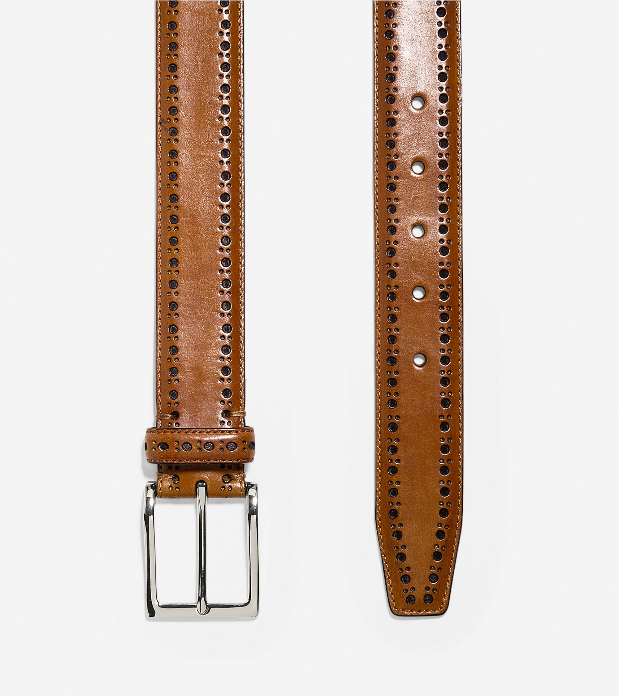 35mm Bridal Leather Belt Colehaan