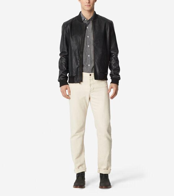 Outerwear > Bonded Varsity Jacket