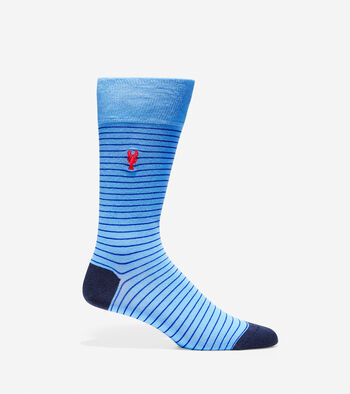 Pinch Pinstripe Crew Socks
