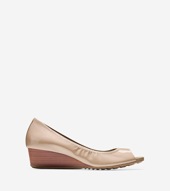 Ballet Flats & Wedges > Tali Grand Open Toe Wedge (40mm)