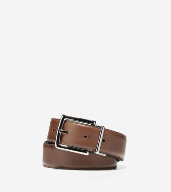 32mm Reversible Dress Leather Belt