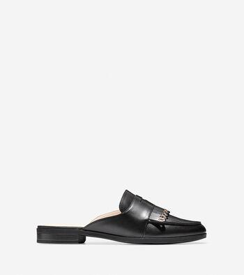 Women's Pinch Kiltie Slide Loafer