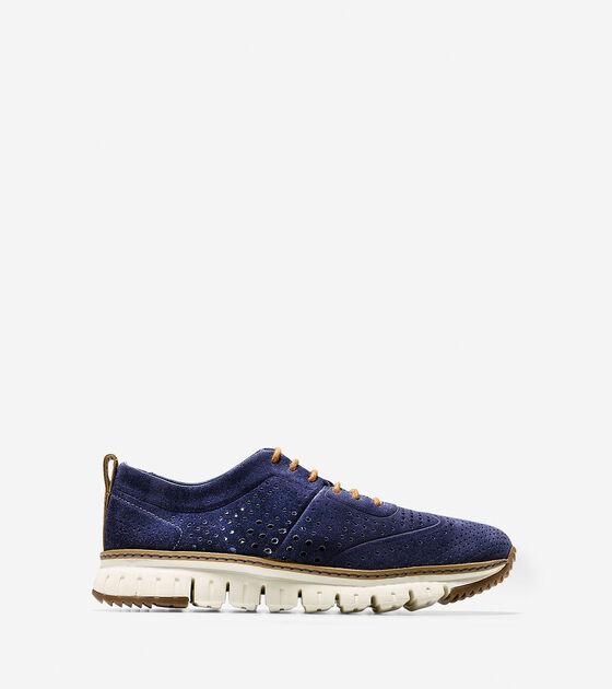 Sneakers > Men's ZERØGRAND Perforated Sneaker