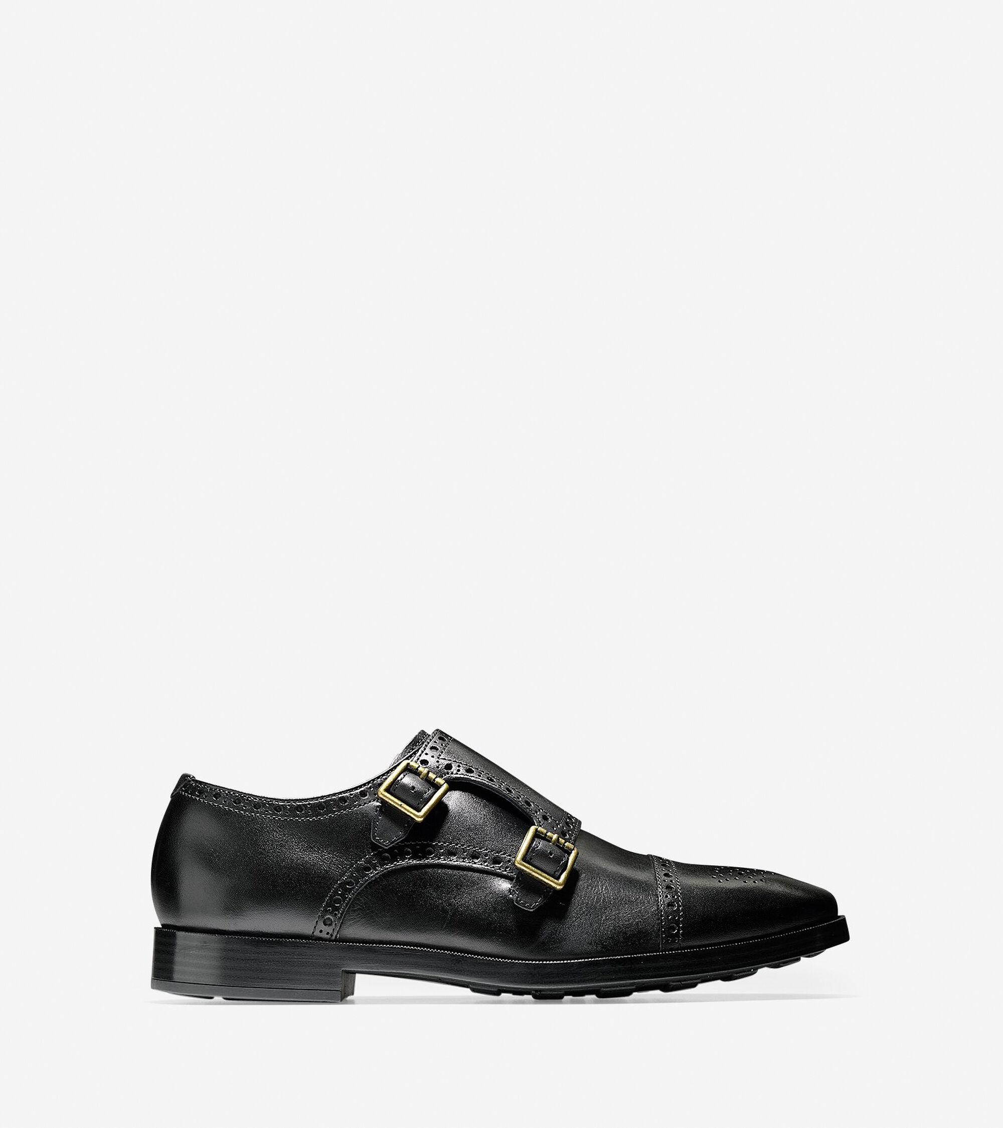 Cole Haan Jefferson Grand Double Monk Oxford Shoes