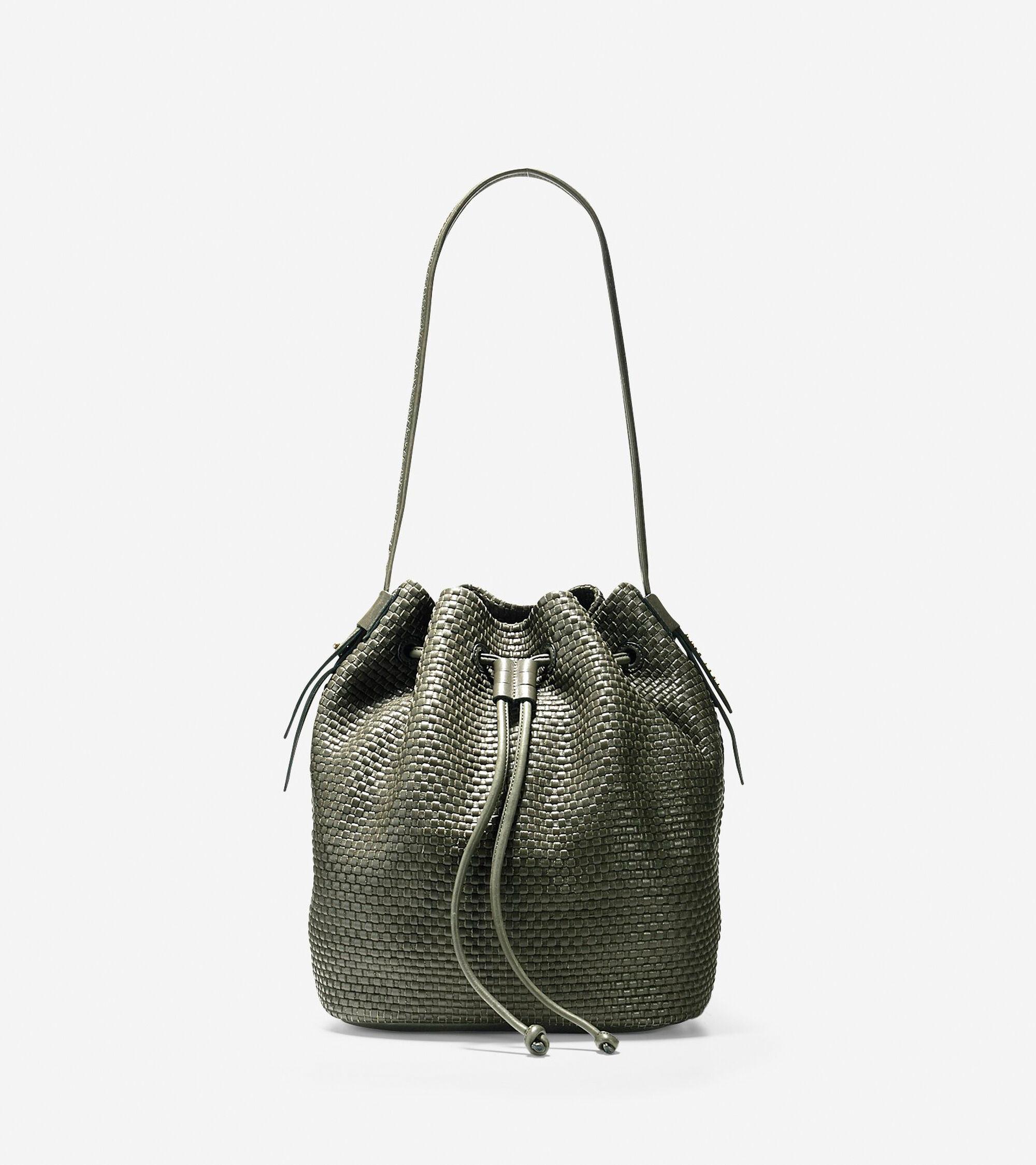 Handbags > Bethany Weave Drawstring Hobo