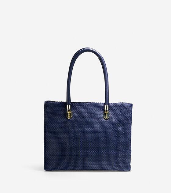 Handbags > Benson Woven Tote