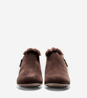 Callie Shearling Waterproof Rain Shoe (30mm)