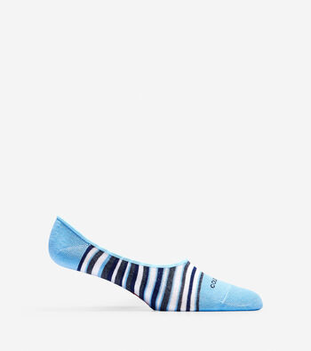 Town Stripe Liner Socks - 2 Pack