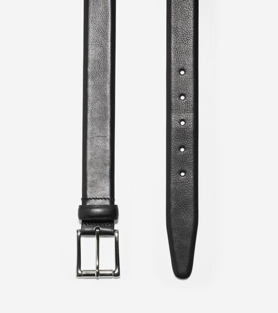 32mm Burnished Leather Belt