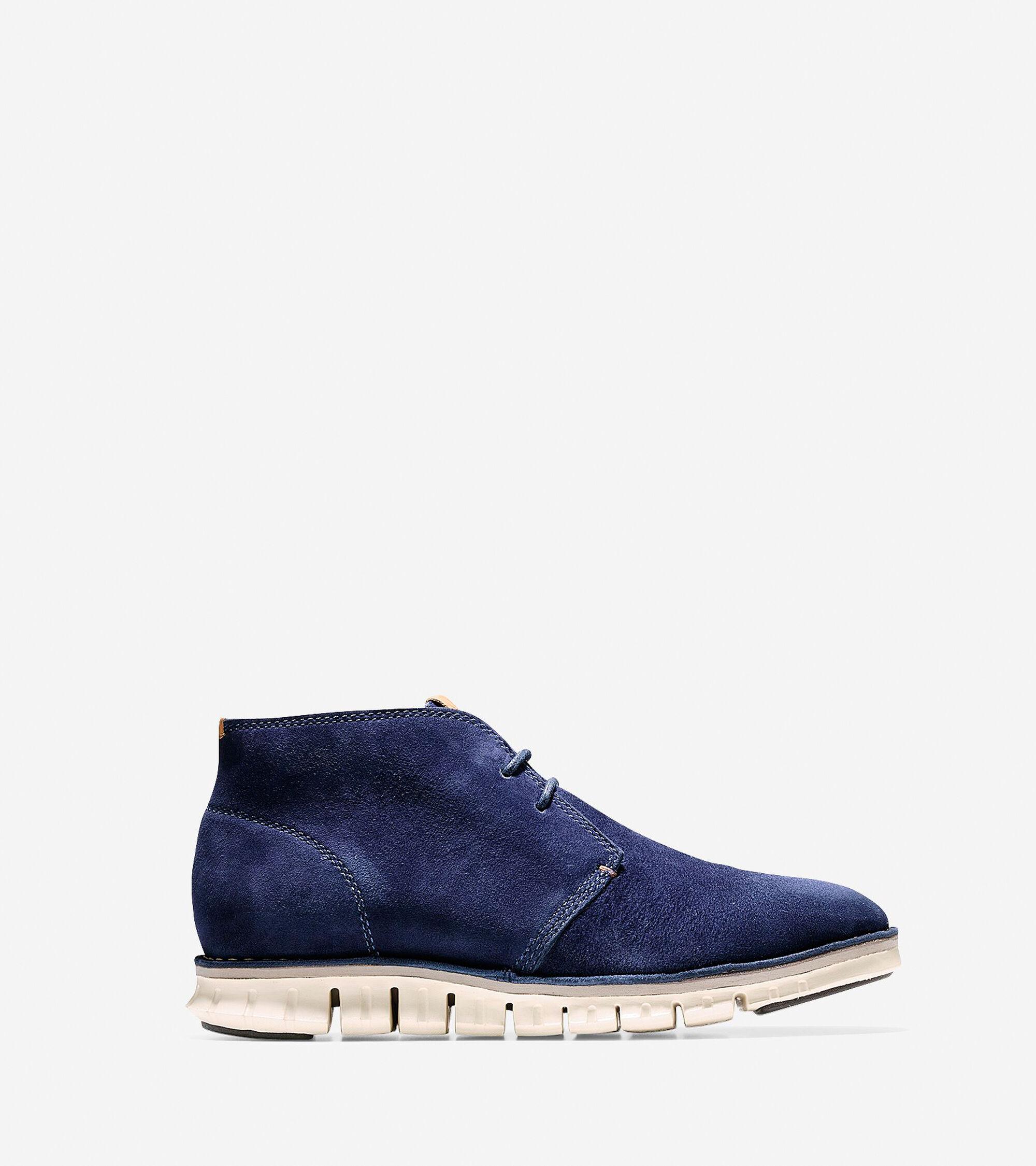 Shoes > ZERØGRAND Stitch Out Chukka