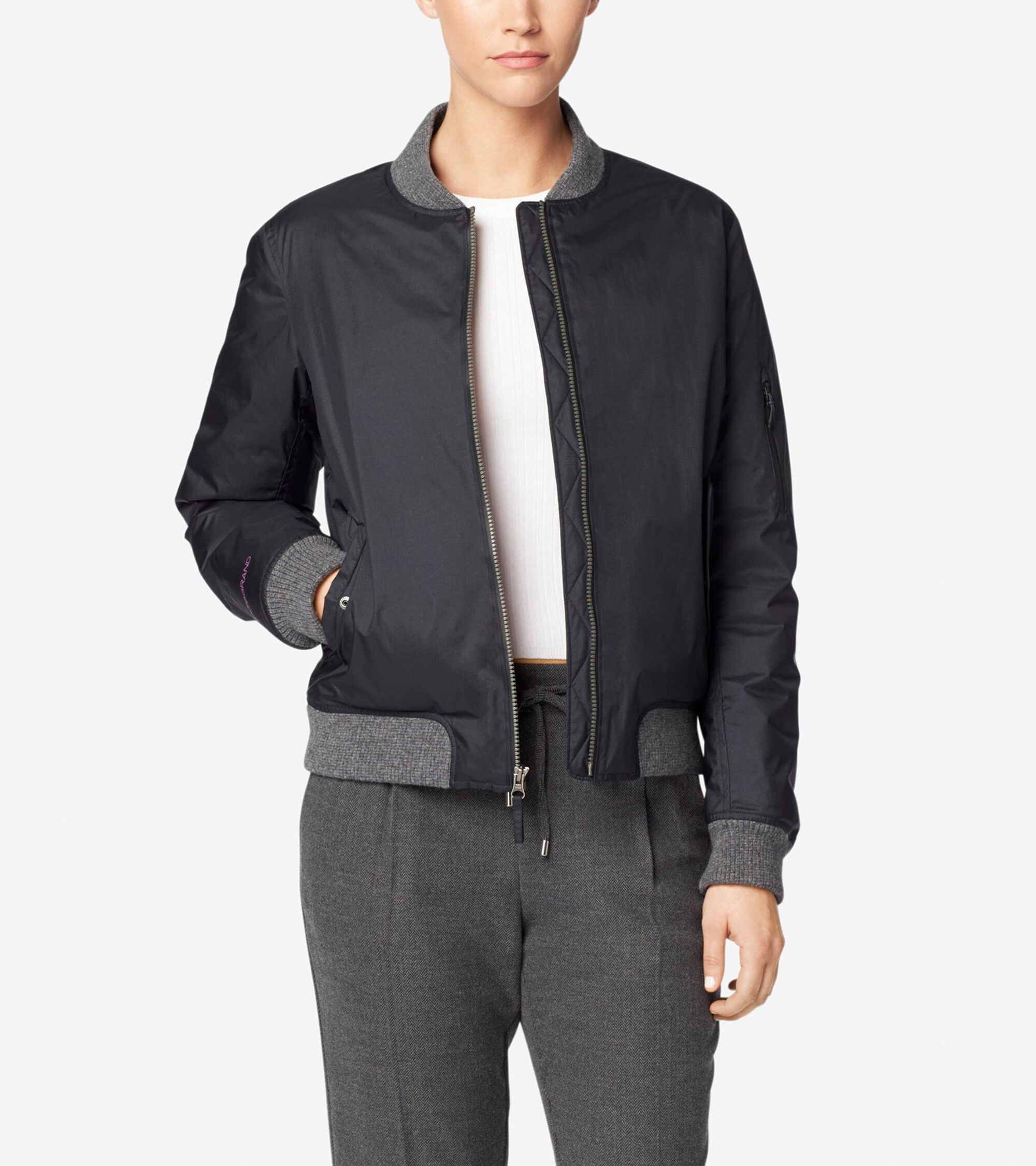 Leather jacket repair ottawa - Studi Grand Bomber Jacket Studi Grand