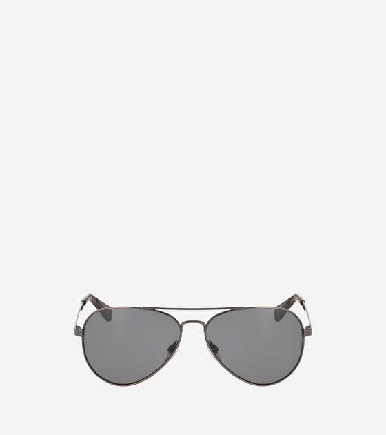 Accessories > Metal Aviator Sunglasses