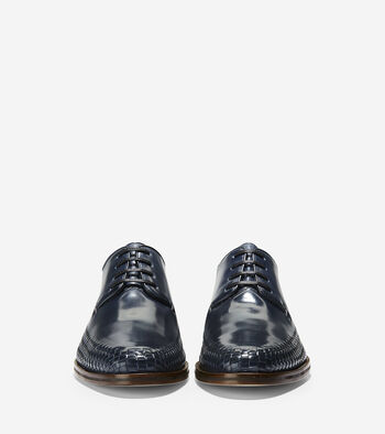 Washington Grand Woven Plain Toe Oxford