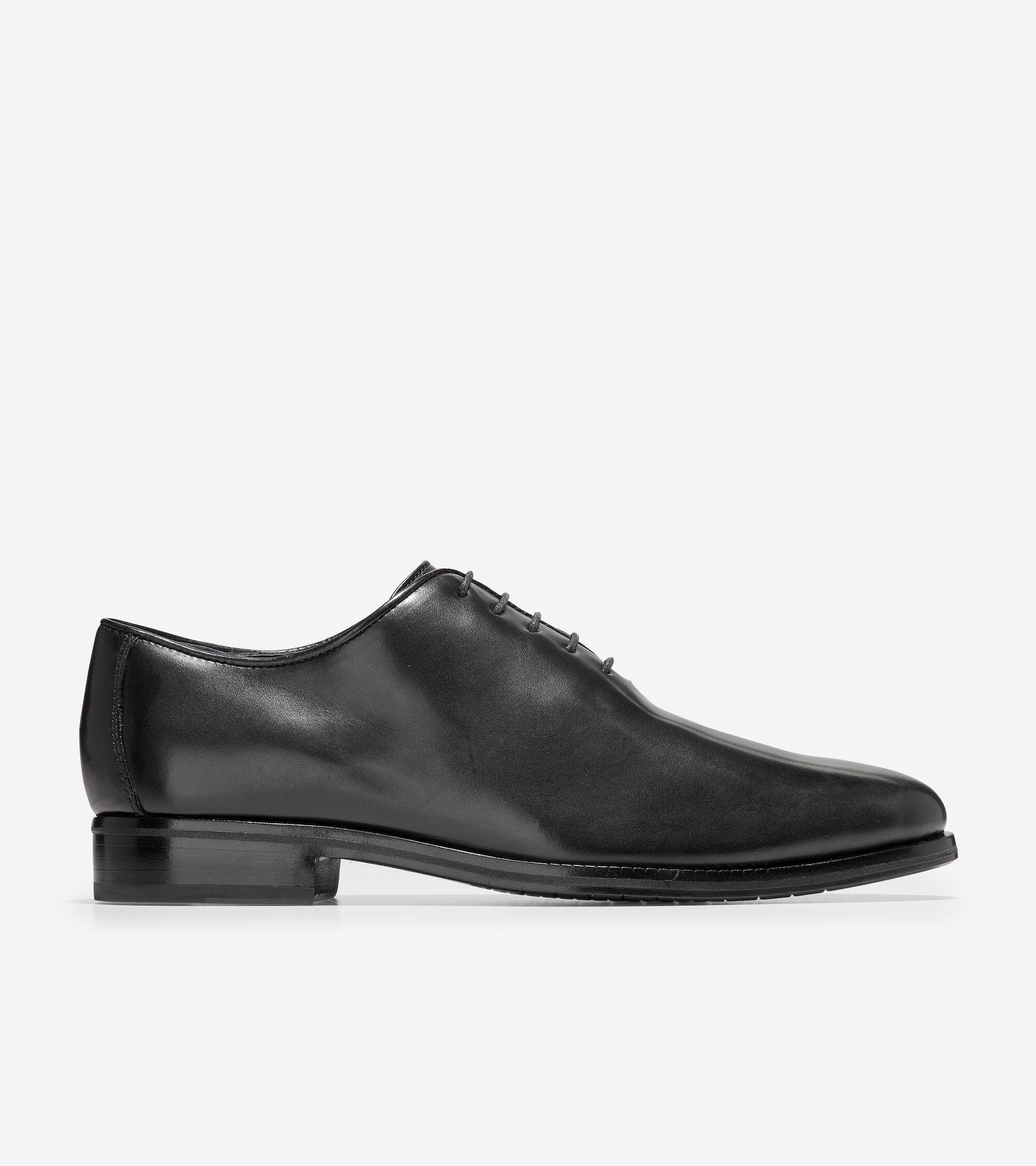Cole haan black leather gloves - Washington Grand Wholecut Oxford