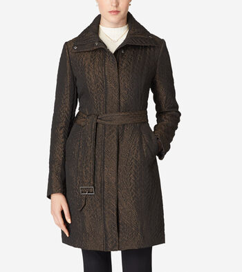Genevieve Weave Coat