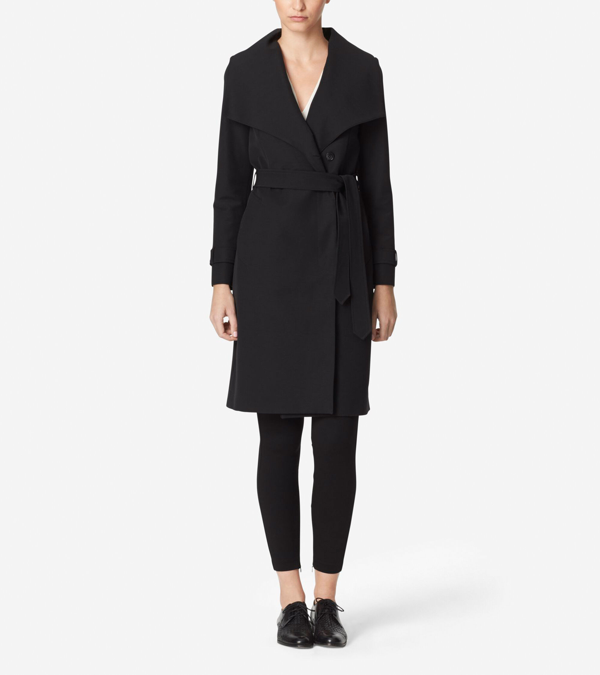 Outerwear > Tali Luxe Italian Cotton Trench Coat