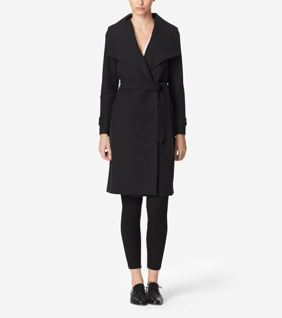 Bags & Outerwear > Tali Luxe Italian Cotton Trench Coat