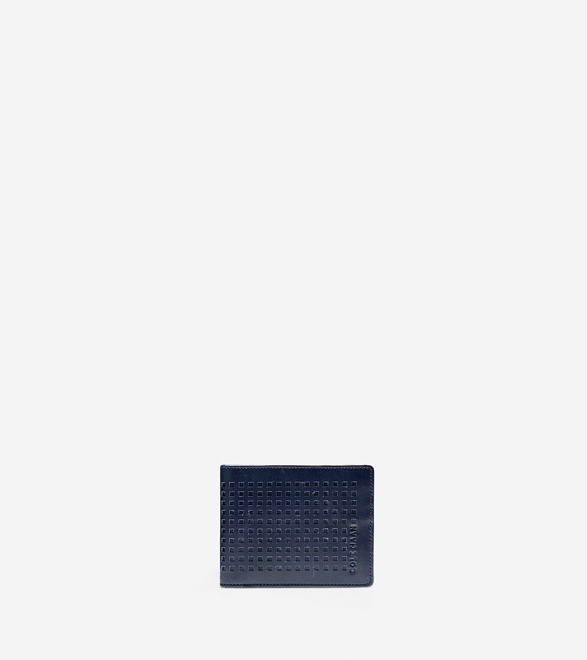Accessories > Perforated Slim Billfold Wallet