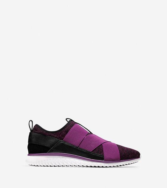 Shoes > StudiøGrand Knit Cross-Strap Sneaker