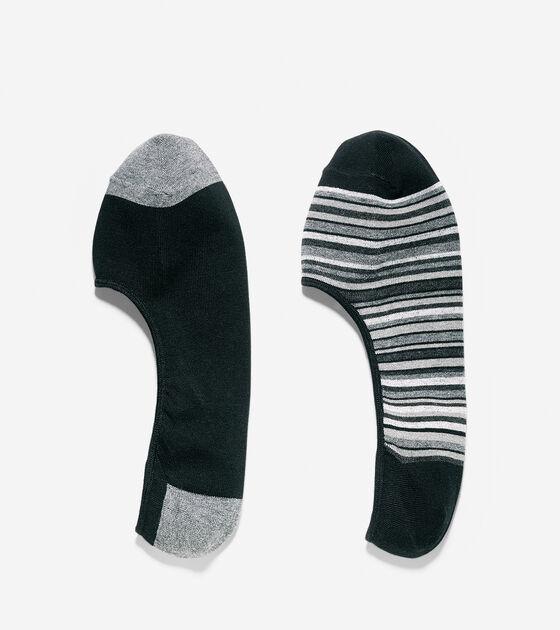 Socks > Town Stripe Liner Socks - 2 Pack