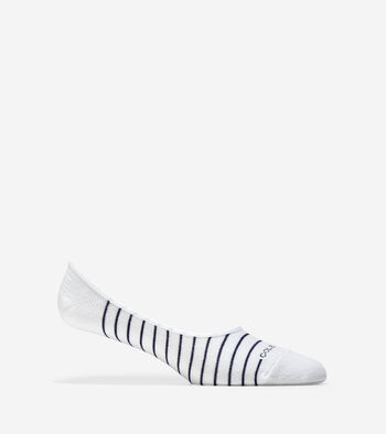 Fine Stripe Sock Liner - 2 Pack
