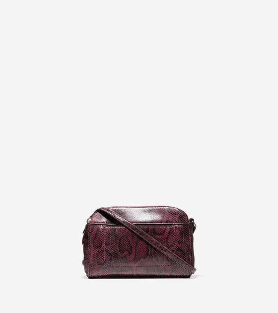 Handbags > Tali Double Zip Crossbody