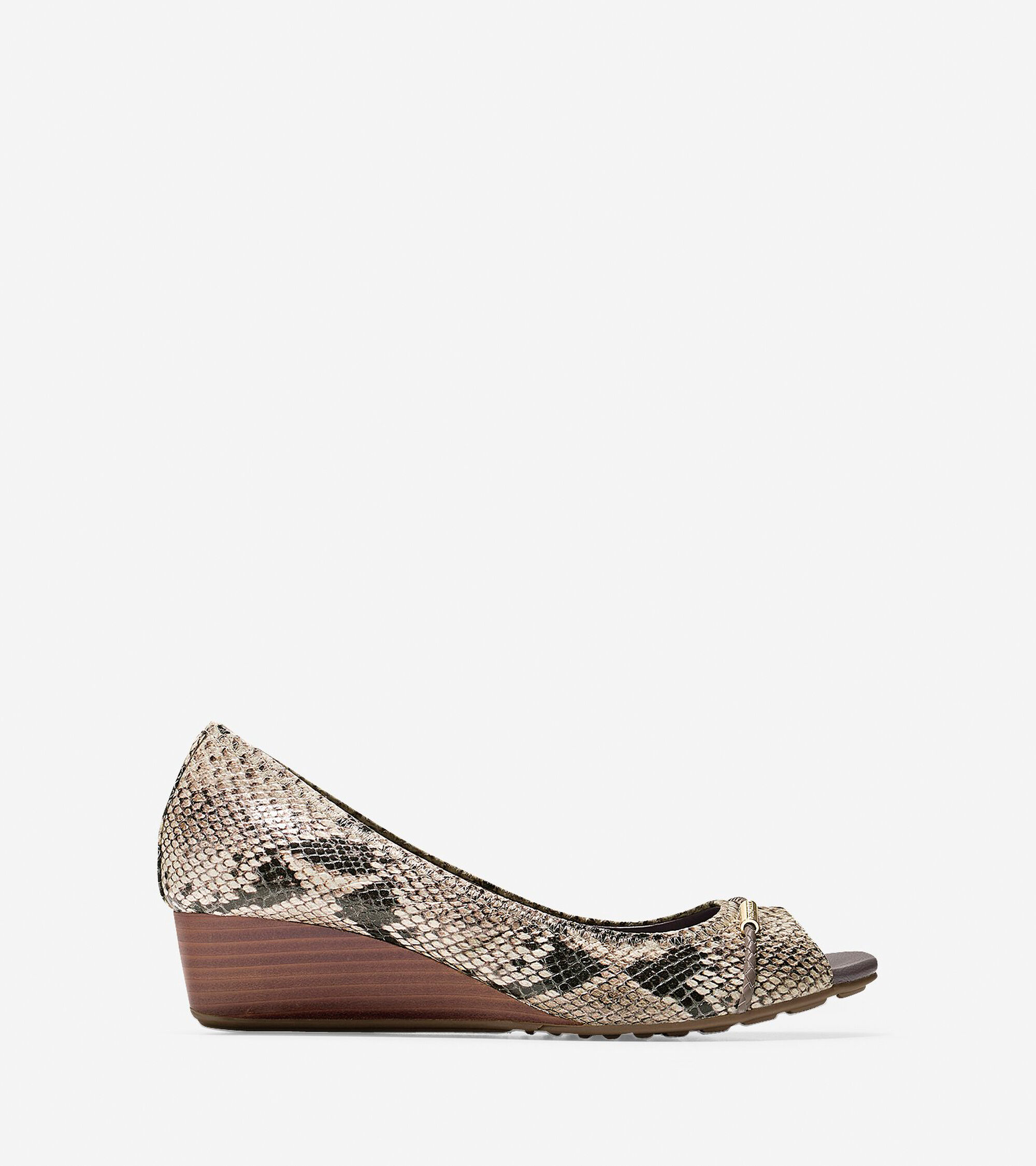 Shoes > Tali Grand Open Toe Detail Wedge (40mm)