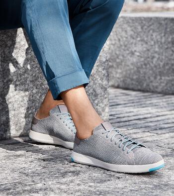 Men's GrandPrø TennisSneaker with Stitchlite™