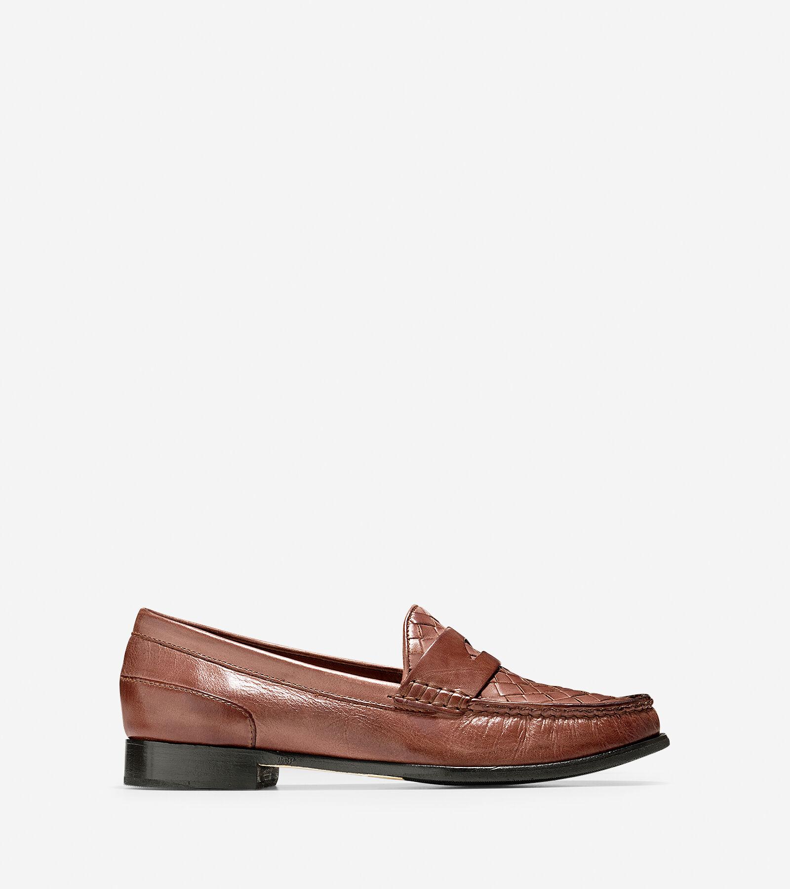 Womens Shoes Cole Haan Laurel Woven Moc Sequoia