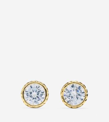 CZ Small Stud Earrings