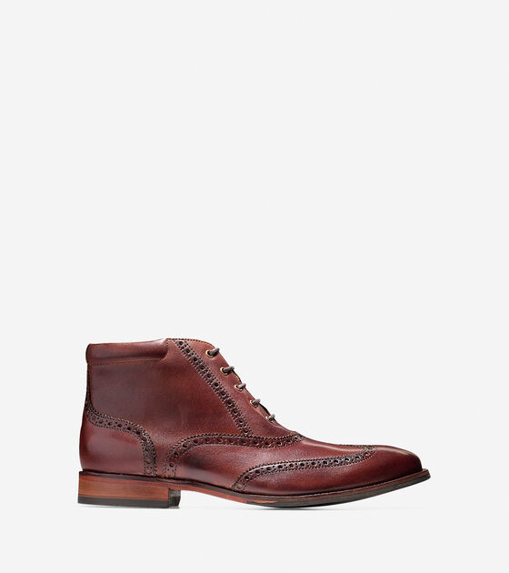 Shoes > Williams Wingtip Chukka