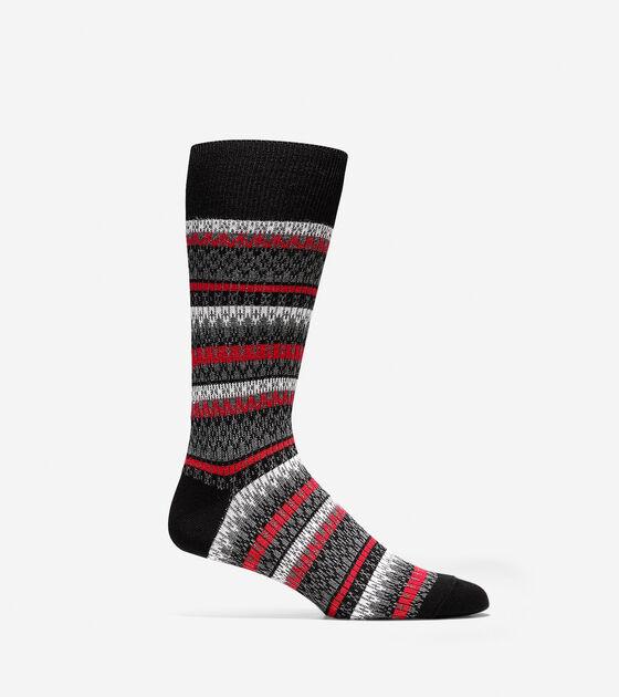 Bags & Outerwear > Fair Isle Crew Socks