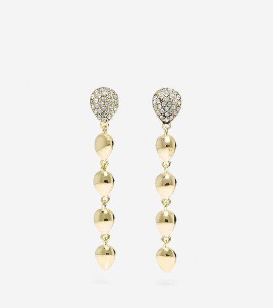 Accessories > Waters Edge Swarovski Teardrop Drop Earrings