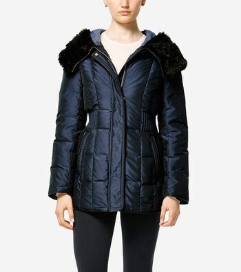 Silky Down Short Coat