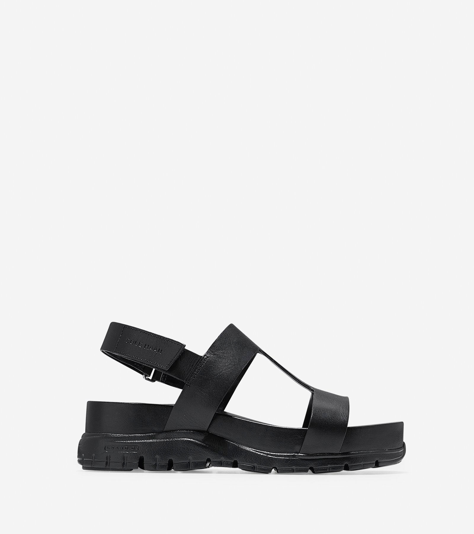 Cole Haan ZeroGrand Leather Strap Sandals vhUQ36qg0i