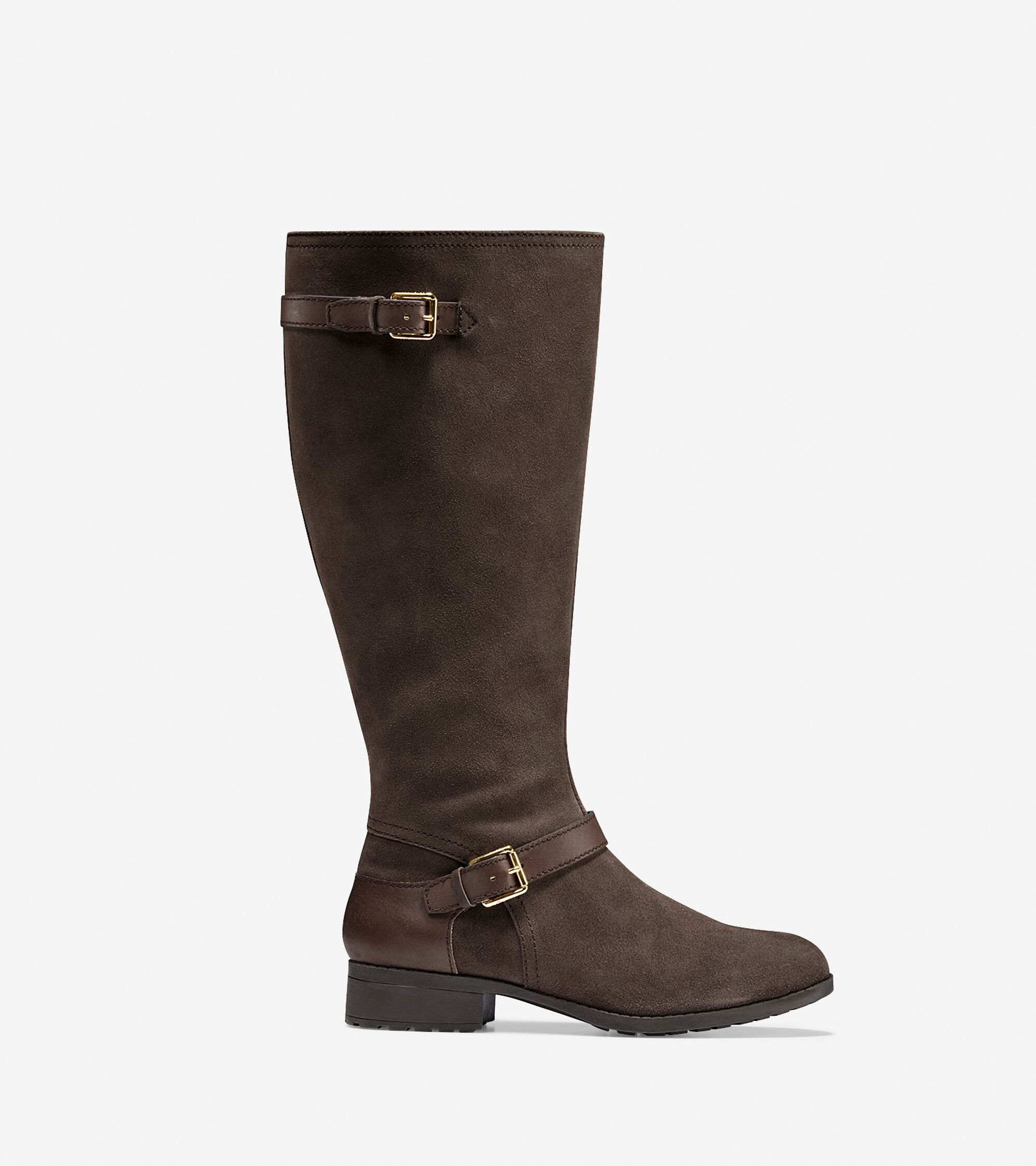 Cole Haan Womens Marla Waterproof Tall (30 mm) Extended Calf Boots