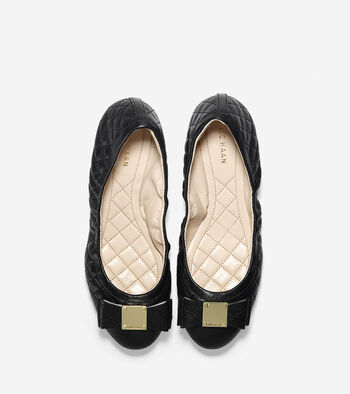 Emory Quilted Bow Ballet Flat