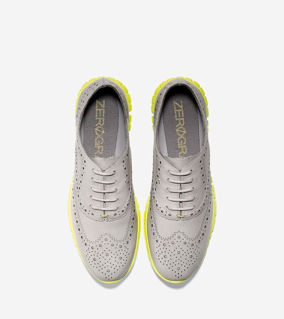 Women's ZERØGRAND Wingtip Oxford