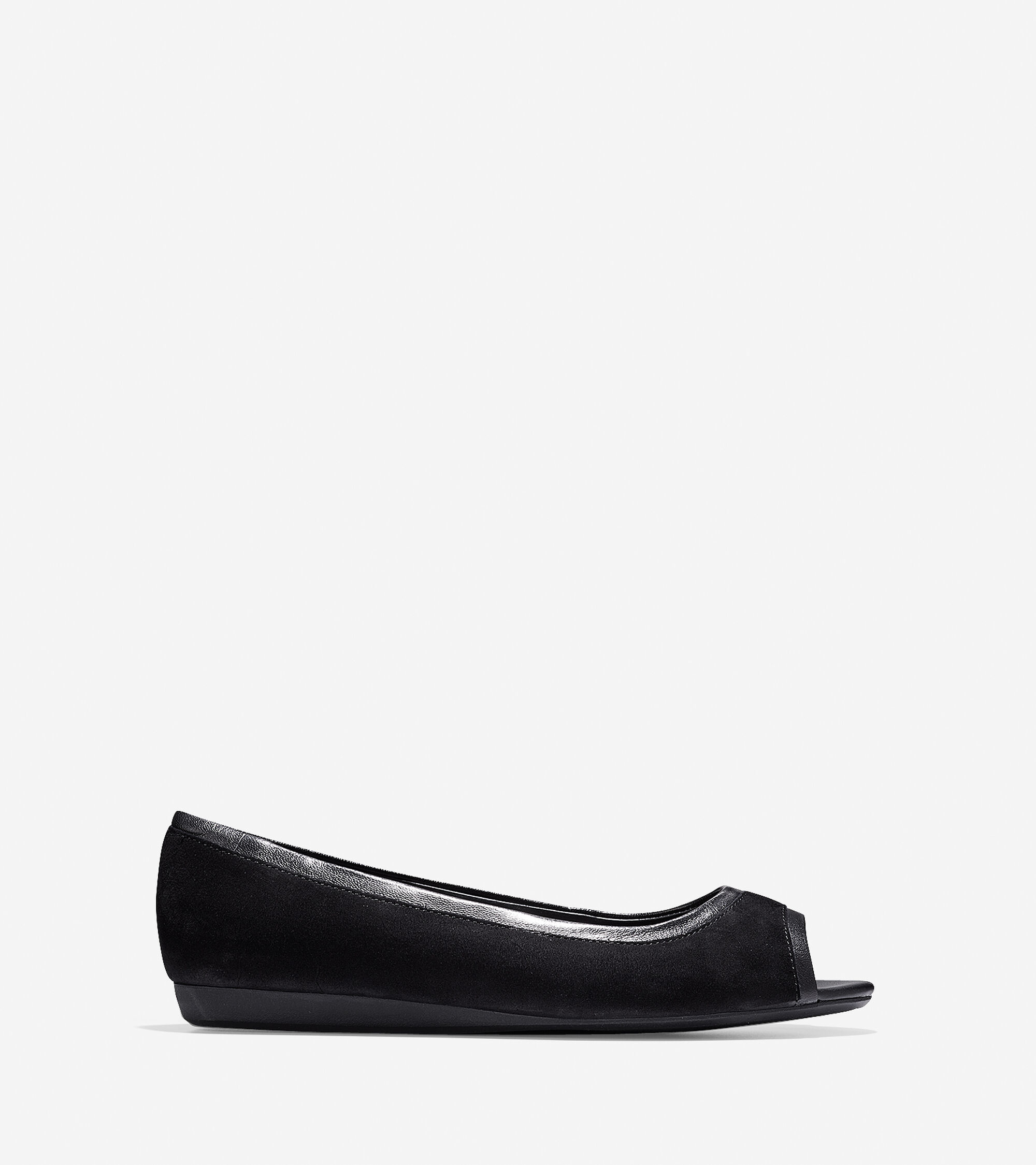 Shoes > Elsie Open Toe Ballet
