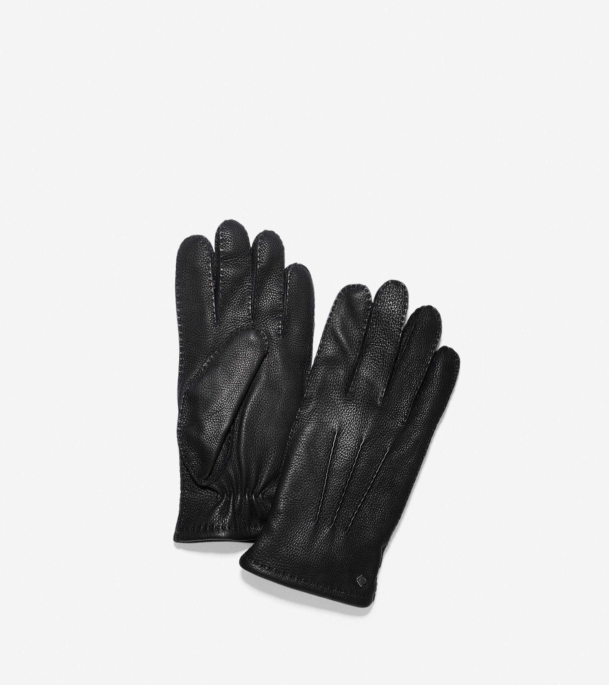 Mens deerskin gloves - Handsewn Deerskin Leather Gloves