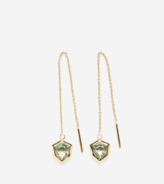 Accessories > Stone Threader Earring