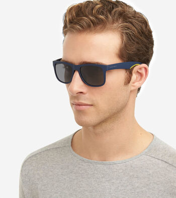 Men's Sport Rectangle Sunglasses