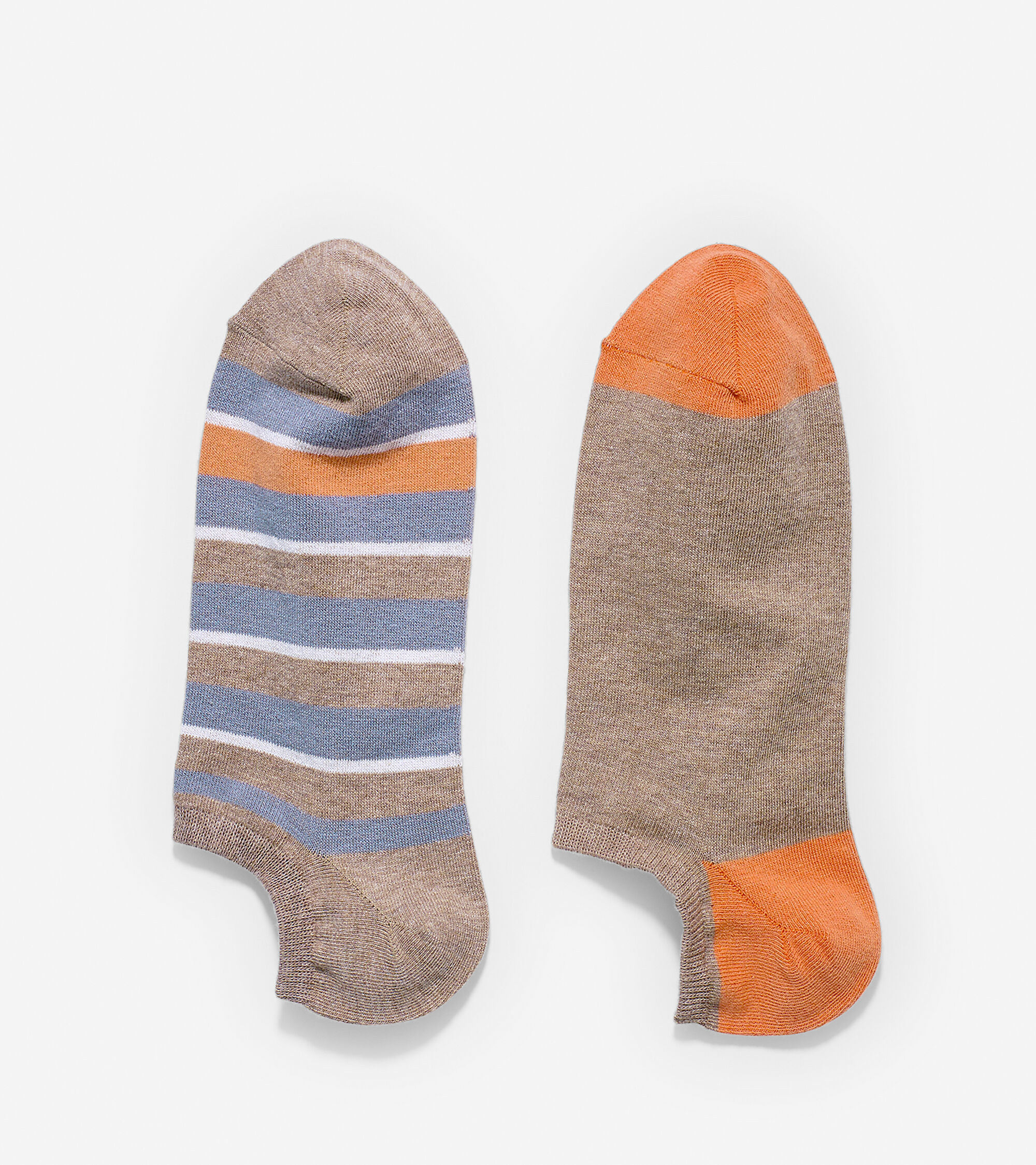 Accessories > Village Stripe Low Cut Socks - 2 Pack