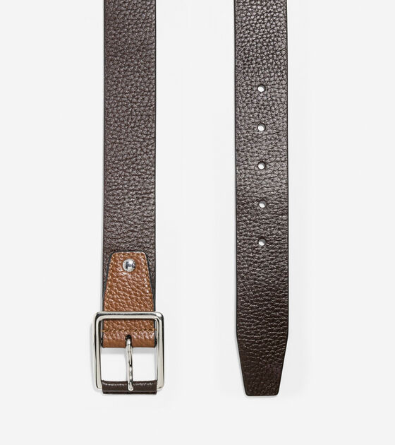 35mm Pebble Leather Belt