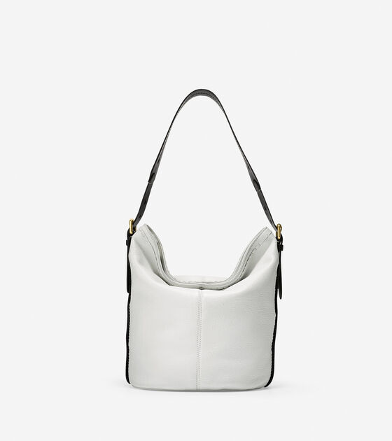 Bags & Outerwear > Loralie Whipstitched Bucket Hobo