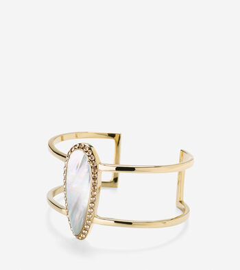 Statement Stone T Bar Cuff